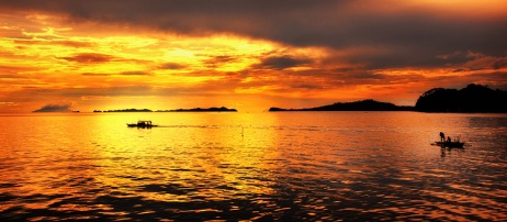 Sunset in Maqueda Bay (Photo by Nelson Petilla)